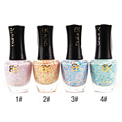 1PCS Top Coat Sequins Nail Polish No.1-4(17ml,Assorted Colors)