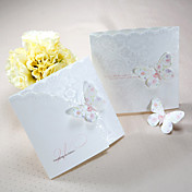 Spring Butterfly Tri-fold Wedding Invitation (Set of 50)
