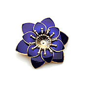 Fine Flower Alloy Brooch (More Colors)