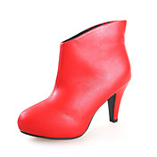 Chic Leatherette Ankle Boots Party / Evening Shoes (More Colors)