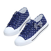 Women's Candy Color Dots & Bow Sneakers (Assorted Color)