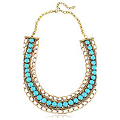 Resin Elegante Com Necklaces Alloy Femininos