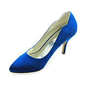 Fashion Satin Stiletto Heel Pumps Wedding Shoes(More Colors)