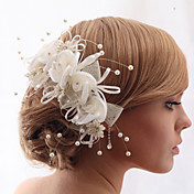 Beautiful Crystal Yarn With Imitation Pearls Wedding/Bride Headdress Flower