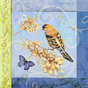 Printed Art Animal Goldfinch Spring III by Mary Beth Griffin