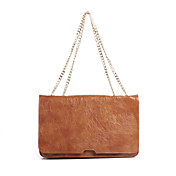 Women's Vintage Simple Effen Kleur Crossbody Bag
