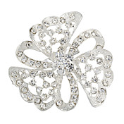 Shining Alloy With Rhinestones Women's Brooch