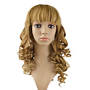 "Full Lace 100% Human Hair 20"" Curly Hair Wigs"