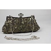 Floral elegante Vintage Clutch Imprimir la Mujer