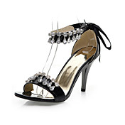 Fantastic PU Stiletto Heel Sandals With Rhinestone Party / Evening Shoes(More Colors)