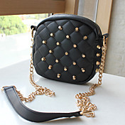 Western Punk Rivet Chain Shoulder Bags