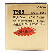 Cell Phone Battery for Samsung T989 (Hercules)(3.7V, 2450 mAh)
