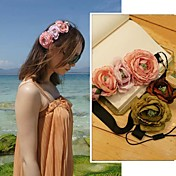 Women's Fashion Vivid Three Roses Headband