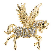 Diamond alas broche Horse