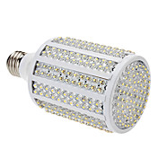 E26 18W 330-LED 1080-1100LM 3000-3500K Warm White Light LED Corn Bulb (85-265V)