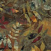 Printed Art Botanical Autumn Soul II by Color Bakery