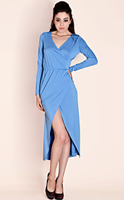 TS Simplicity Wrap Long Jersey Dress (More Colors)