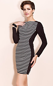 TS Stripes Jersey Bodycon Dress