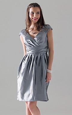 STAFFORDSHIRE MOORLANDS - Vestido de Madrinha em Tafetá