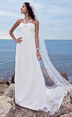 KENZIE - Abito da Sposa in Chiffon e Raso