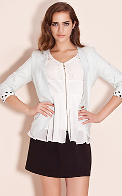 TS Cuff Polka Dot Blazer (More Colors)