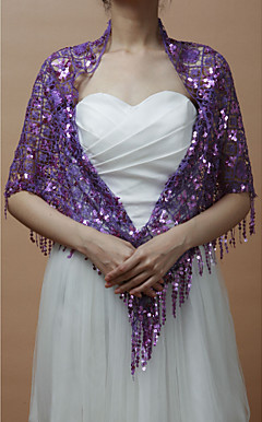 Paillettes de Nice Mariage / Soire Wraps / Chles (Plus de couleurs)