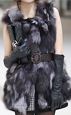 Elegant snipp Fox Fur Party / Karriere Vest