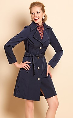 TS Simplicity Slim Fit Trench Coat