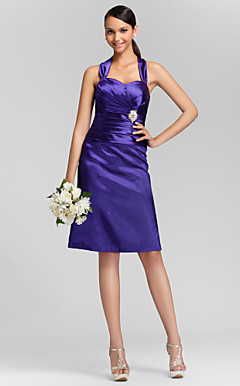 MELINDA - Kleid fr Brautjungfer aus Satin