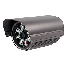 venta al por mayor 420tvl 1 / 3 de pulgada sony color ccd ir impermeable 50m distancia con cable adaptador de CA con cámara