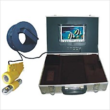 """venta al por mayor pescadores submarinos de la cámara a colores con monitor de 7 """"(cr110-7) (szq438)"""