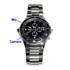 venta al por mayor 8gb moda reloj espía con cámara oculta hd