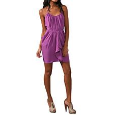 venta al por mayor Escote camisola se reunieron vestidos de las mujeres de los volantes (1802bc237-0853)