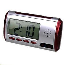 venta al por mayor reloj despertador digital con cámara de vigilancia oculta