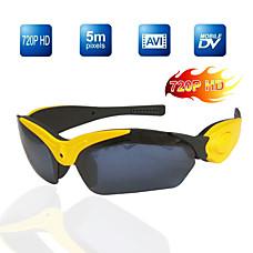 venta al por mayor real HD 720p gafas de sol deportivas sexy grabador de vídeo digital, la memoria de 4g incluidos / cámara oculta (tra635)