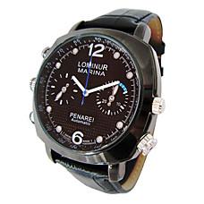 venta al por mayor reloj resistente al agua con la cámara oculta hd