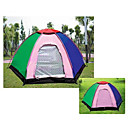 Four People Six Angles Yurt-Style Outdoor Camping Tent (HYYP186)(Start From 10 Units)