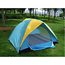 Camping Double Layer Tent 2 Persons+Tent Light 24 LED (HYYP231)(Start From 10 Units)