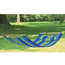Beautiful Blue And Yellow Stripled Hanging Swinging Hammock (HYYP051)(Start From 10 Units)