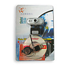 480K Hi-Resolution PC Digital Camera/WebCam with Retractable Wheel / Silver (SZYP009) -Free Shipping