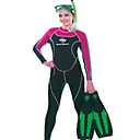 """Womens Full Suit Long Sleeve Swimwear, Size:S-XXXL, (QSY051) -Free Shipping"