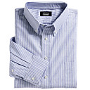 manga larga botn de la camisa oxford para los hombres (chs003)