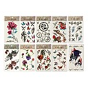 10 Glitter Temporary Tattoos Sheets (Start From 5 Units)