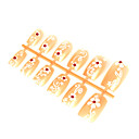 12 PC Special Design Art Acrylic False Nails Tips (TYZJ0017) (Start From 50 Units)