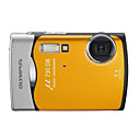 Olympus Mju 790 SW appareil photo numrique orange 7.4mp + Livraison gratuite