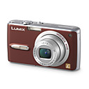 Panasonic Lumix DMC-FX07 Claret 7.4MP Digital Camera + Free Shipping