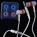 New iPod Isolate Vibe Earphone - Metal Silver M901 (SZL023) (Start from 30 units)