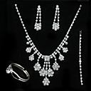 Lilliana Wedding Jewelry 4 piece Set (TYPJ018) (Start From 10 Units) Free Shipping
