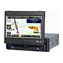 7-inch Touch Screen 1 Din In-Dash Car DVD Player TV and Bluetooth Function SH-DV7551B