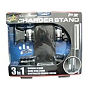 PS3 3 in 1 Multi-Function Charger Stand Black (LK036) (Start From 10 Units)